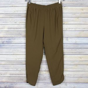 NWT J. Crew Reese Ankle Pants Olive Moss B8523